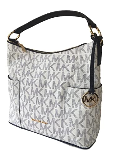 bc1b38b2bd78 Amazon.com  Michael Kors Anita Large Convertible Shoulder Bag Navy White   Shoes