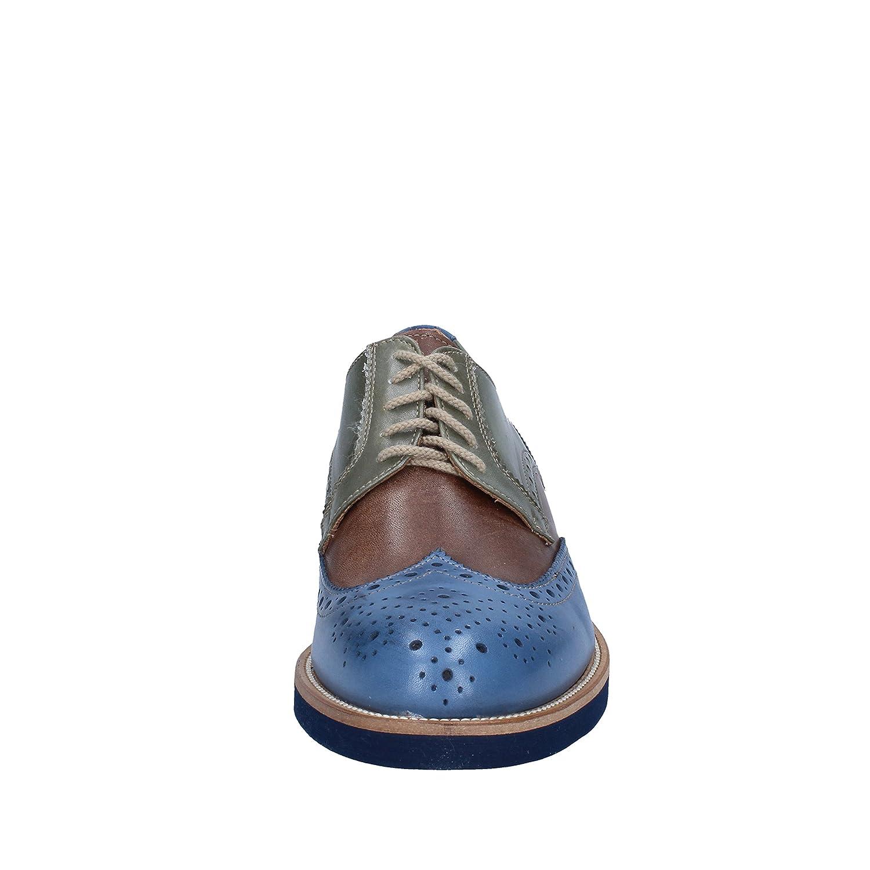 Di Mella Elegante Schuhe Herren Herren Schuhe Leder braun 219494