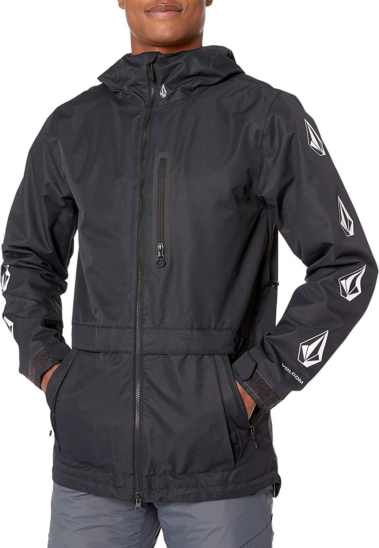 Volcom mens Deadly Stones Snow Jacket: Clothing