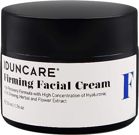 Iduncare Crema Facial Reafirmante - Crema de Cara Antiedad con Vitamina C & Ácido Hialurónico - Mejor Crema Hidratante para Piel Seca, Arrugas & Manchas en la Piel - 50 ml: Amazon.es: Belleza