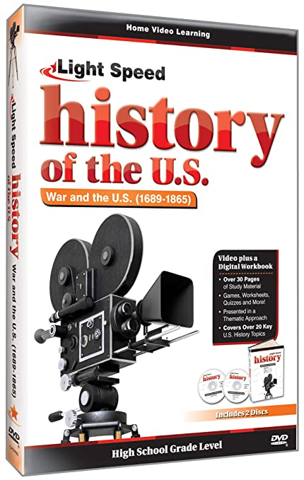 Amazon.com: Light Speed History of the U.S.: War and the U.S. ...