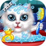 Laver et traiter les animaux de compagnie: aider les chats et chiots! jeu éducatif pour les enfants - Meilleurs Jeux GRATUIT