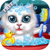 Wash and Treat Pets : help fluffy cats and puppies ! educational Kids Game - FREE