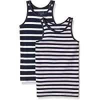 NAME IT Nittank Top K B Noos Camiseta sin Mangas (Pack de 2) para Bebés