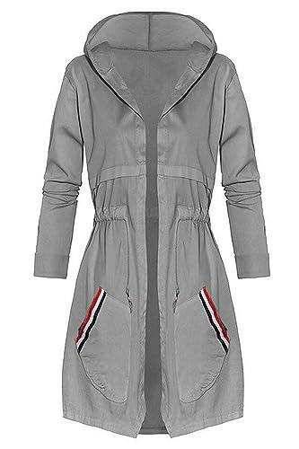Zaywind - Abrigo impermeable - para mujer