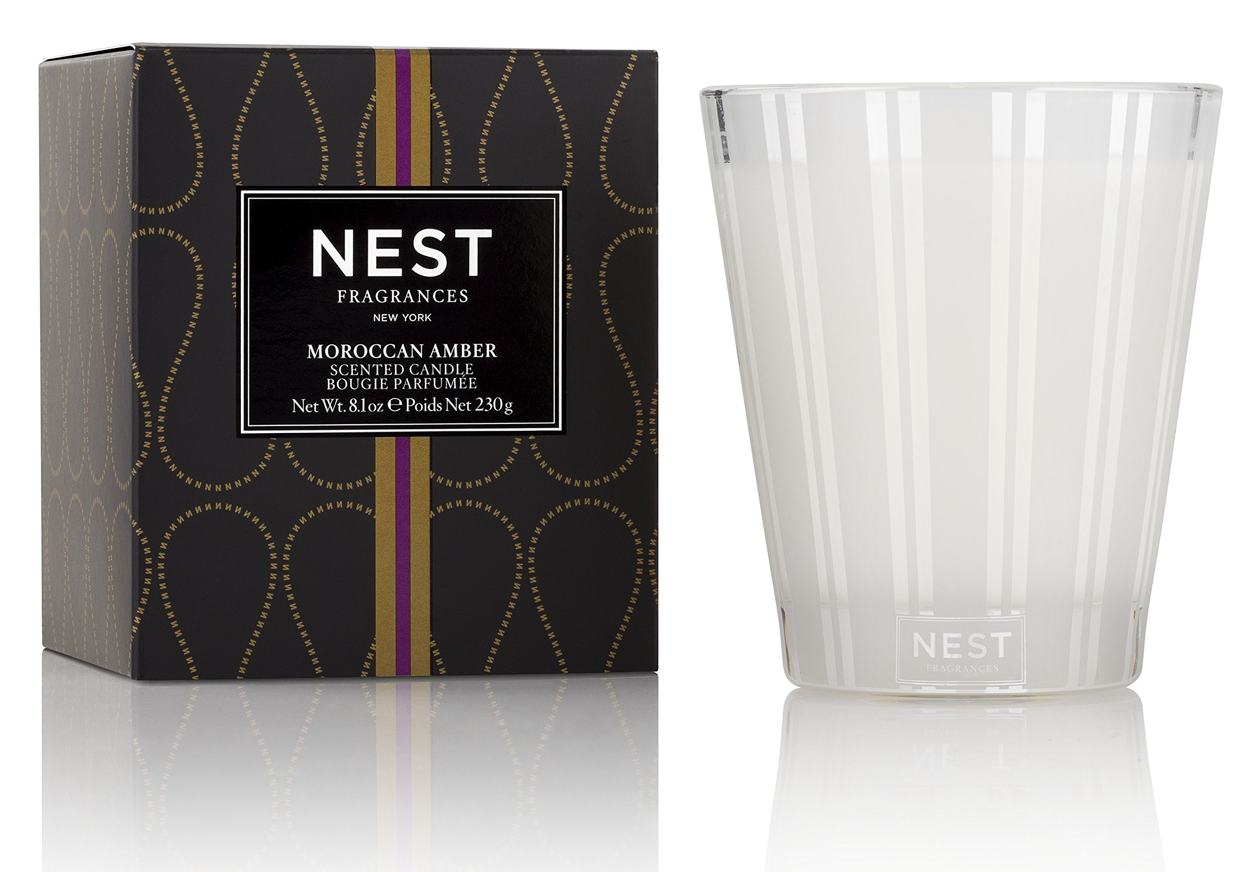 NEST Fragrances NEST01MA003 Classic Candle- Moroccan Amber, 8.1 oz by NEST Fragrances