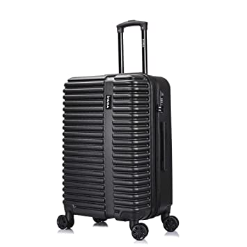 0a13155533b4 InUSA Ally Luggage Lightweight Spinner 24