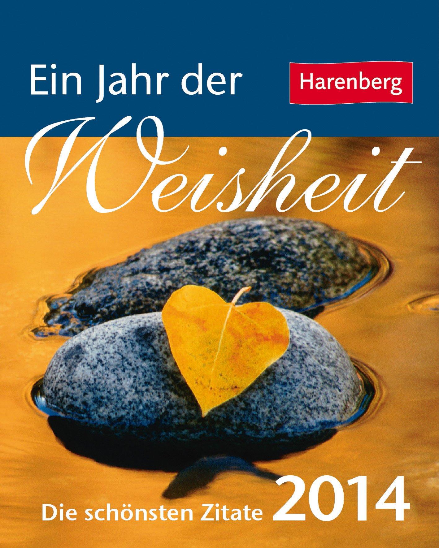 Ein Jahr der Weisheit 2014 Mini-Geschenkkalender: Die schönsten Zitate