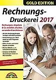 Rechnungsdruckerei 2017 - Rechnungen, Angebote, Mahnungen, Gutschriften schreiben - keine zeitliche Begrenzung