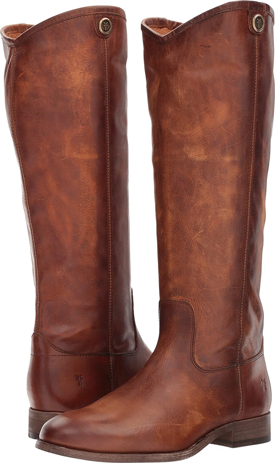 FRYE Women's Melissa Button 2 Riding Boot B06VSCB5C3 6.5 B(M) US|Cognac Extended
