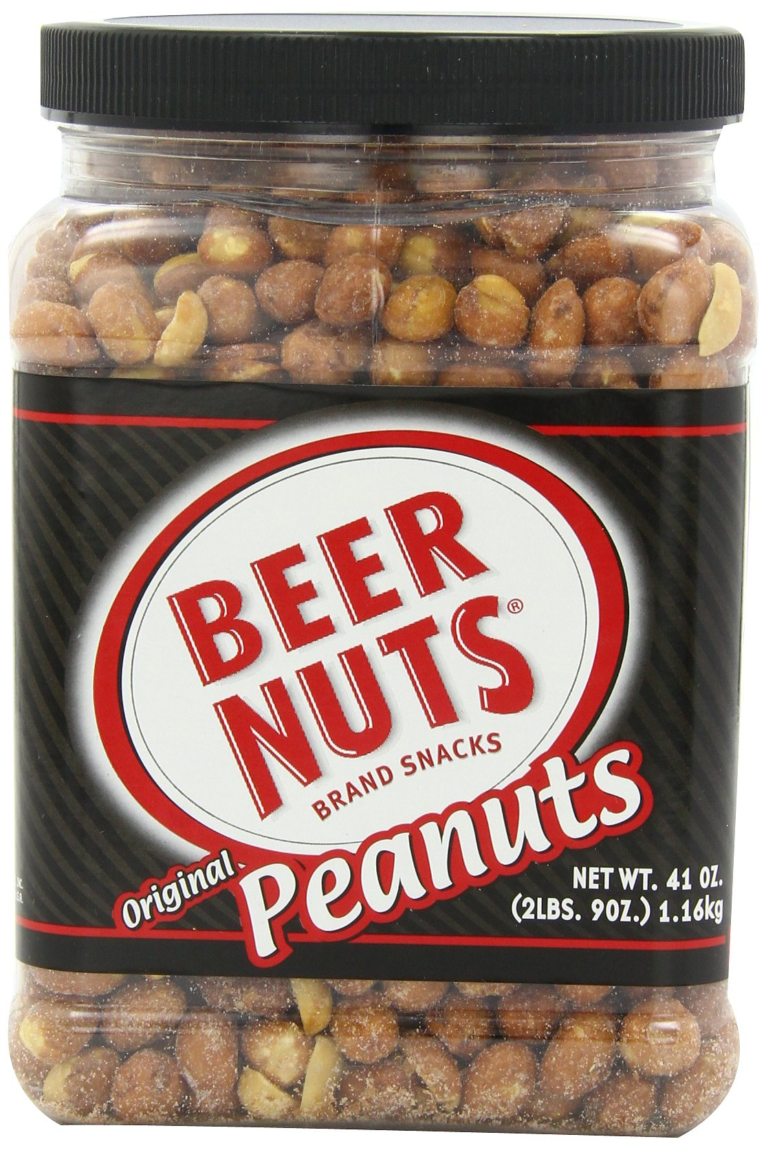 BEER NUTS Original Peanuts (Party), 41-Ounce Jars (Pack of 2) by Beer Nuts