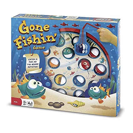 Amazon Com Gone Fishing Game Toys Games