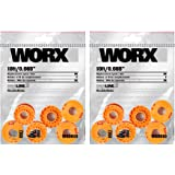 WORX WA0010 Replacement 10-Foot Grass Trimmer/Edger Spool Line, See Product Description for Compatible Models tlDSdp, 12-Pack