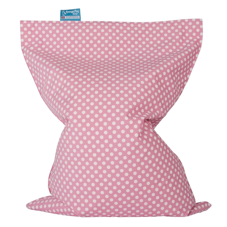 Druck Pink Getupft Sitzsack Lounge Pug/® Kinder Sitzkissen