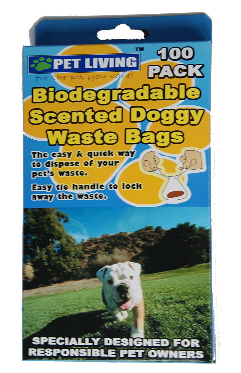 Pet Living Mascota vida handiscoop biodegradables bolsas (Pack de ...