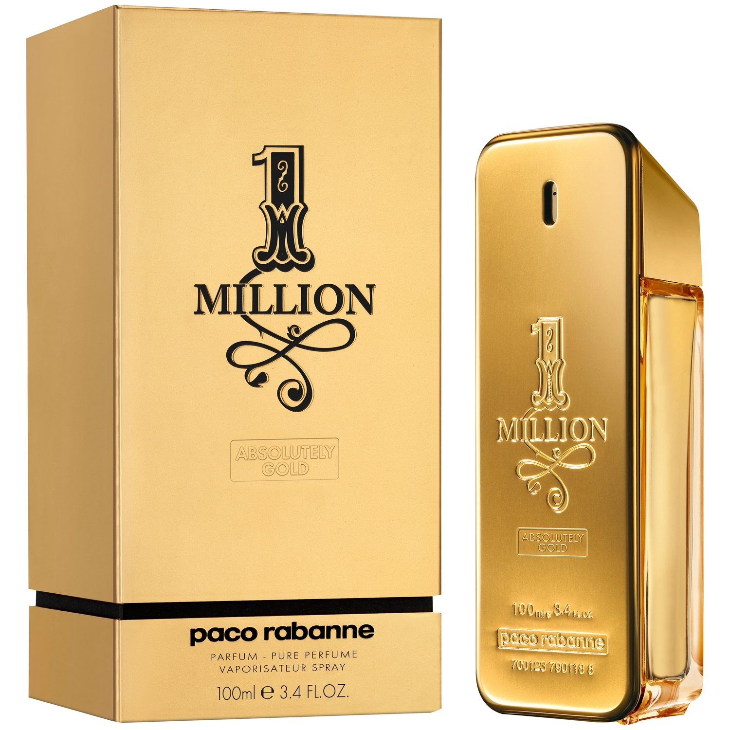Amazoncom 1 Million By Paco Rabanne For Men 33 Oz Absolutely