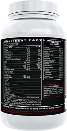 Driven Vegan Protein- 100 Plant Based Protein from Pea, Brown Rice, and Quinoa Enhanced with 11 Superfoods for Antioxidant Support 2lb Chocolate