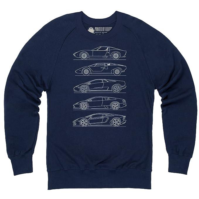 Shotdeadinthehead Bull V12 Car Generations Sudadera de Cuello Redondo, para Hombre: Amazon.es: Ropa y accesorios