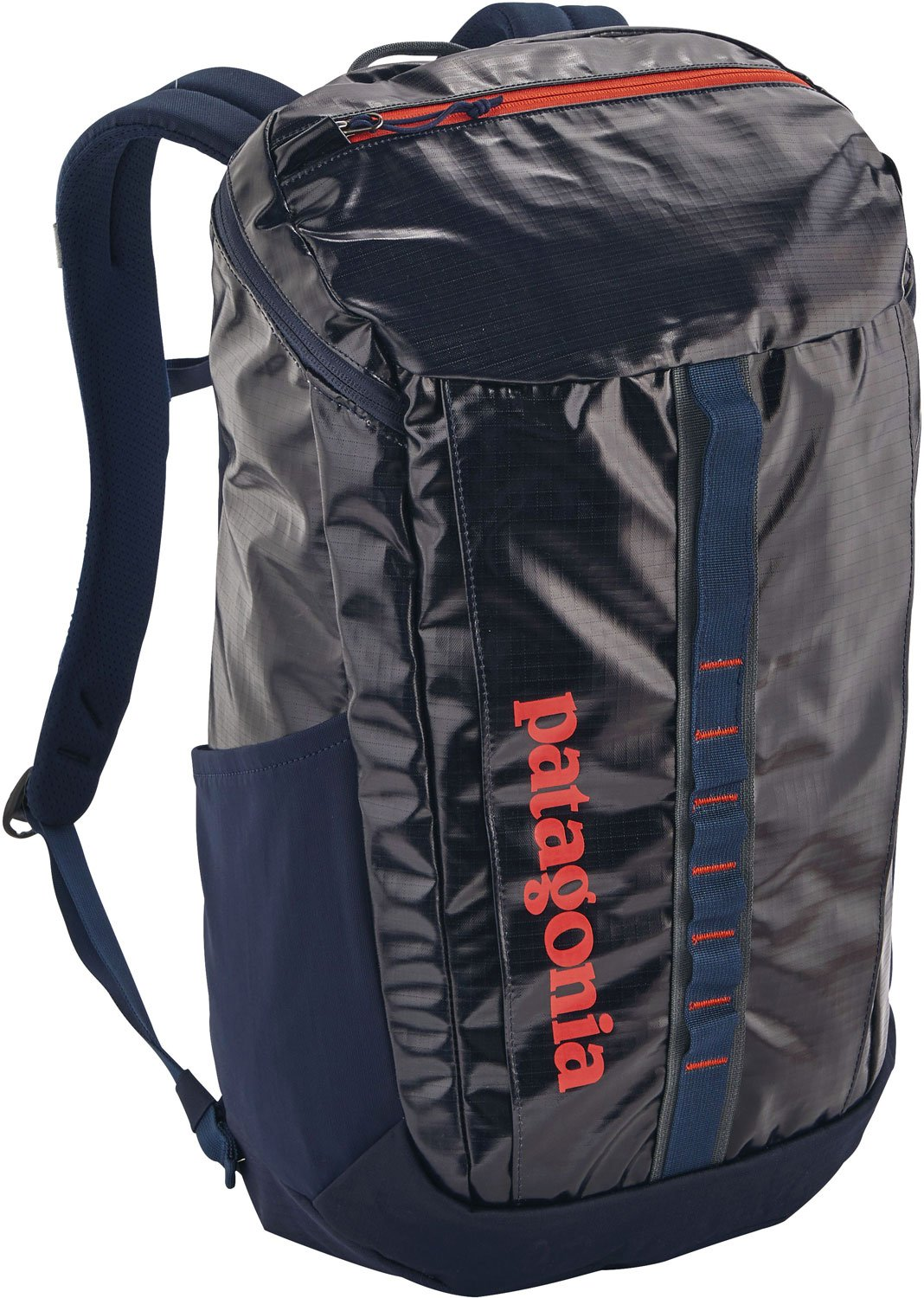 Patagonia Black Hole Backpack 25L Navy Blue w/ Paintbrush Red by Patagonia