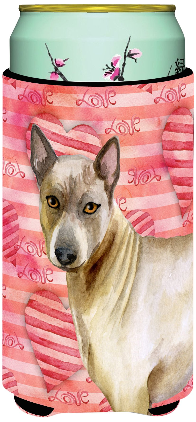 Caroline's Treasures BB9767TBC Thai Ridgeback Love Decorative Can Hugger, Tall Boy, Multicolor by Caroline's Treasures