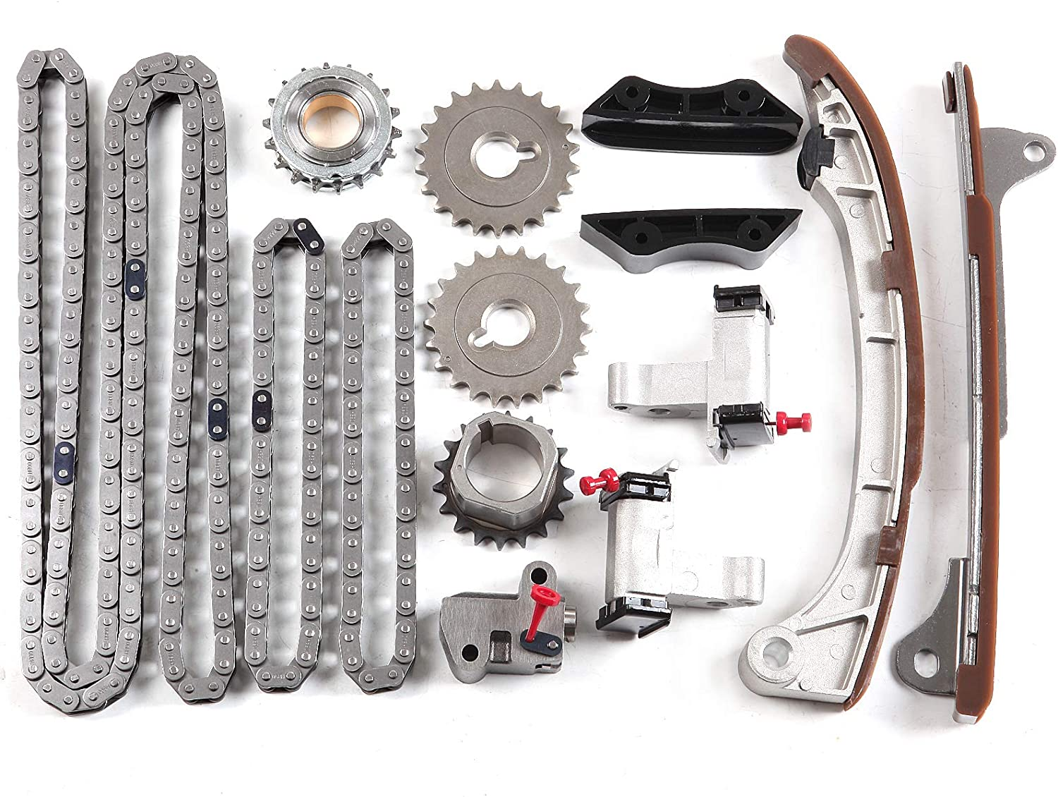 SCITOO Timing Chain Kit fits for 2003-2009 TKTO050 TKDG240A TK167 Toyota 4Runner Tundra 4.0L
