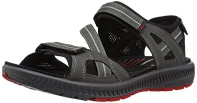 3aef2388cee6 ECCO Men s Terra 3S Athletic Sandal Dark Shadow 42 EU 8-8.5 ...