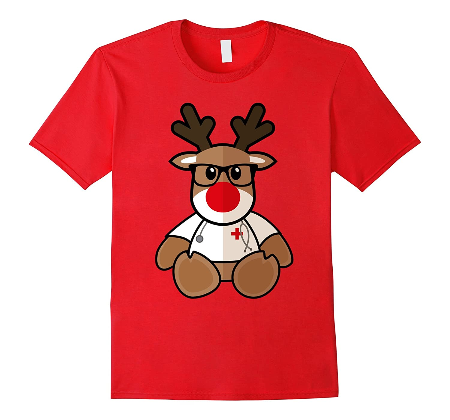 christmas reindeer nurse tee for xmas nursing santa shirt anz