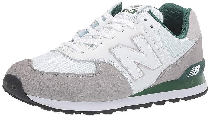 New Balance 574v2 Sneakers Herren Weiß/Grau/Grün