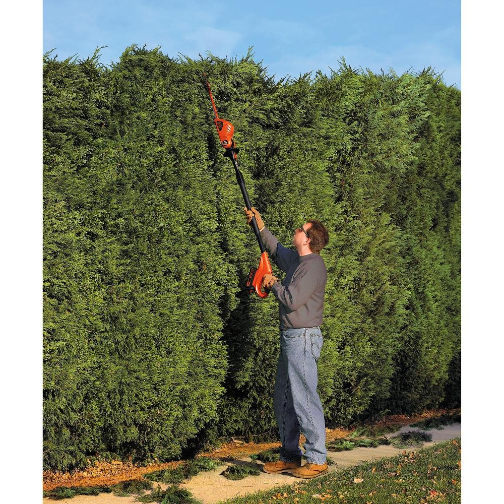 Black + Decker Hedge Trimmer O...