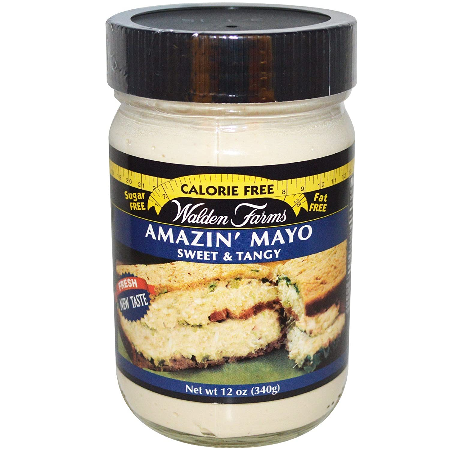 Walden Farms - Amazin Mayo - Mayonesa - 340 g: Amazon.es: Alimentación y bebidas