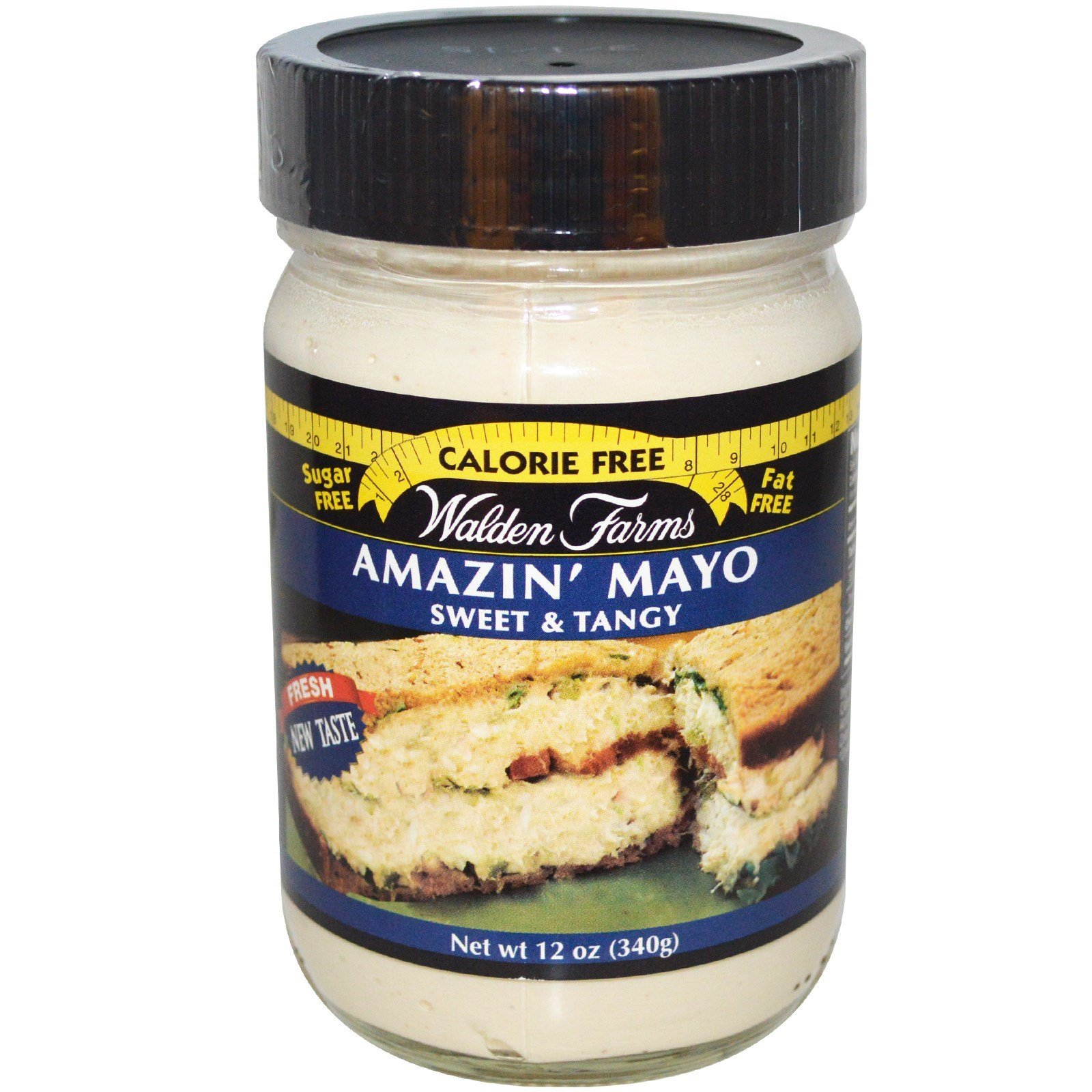 Walden Farms Amazin Mayo Spread, 12 Ounce