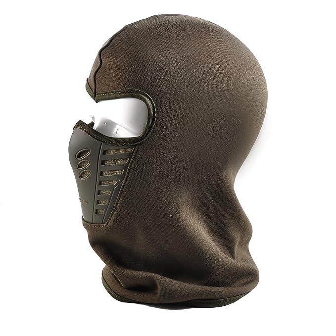 Joyoldelf Warmer Balaclava Face Mask Cover Anti-dust Windproof Winter Outdoor Sk