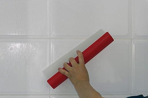 Glart - Espátula de silicona con agarre ergonómico para secar ...
