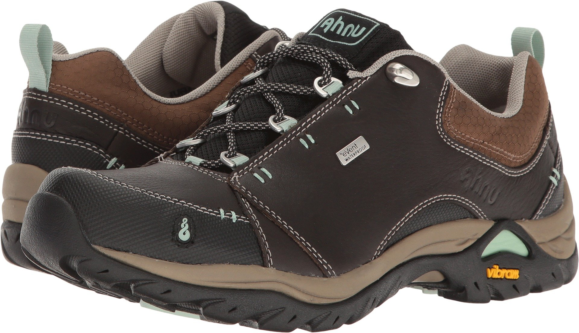 Ahnu Women's W Montara II Waterproof Hiking Shoe, Smokey Brown, 7.5 M US