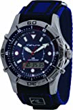 Kahuna Men's Watch K5V-0005G with Blue Rip Strap