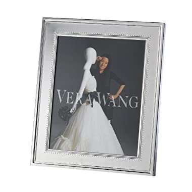 Vera Wang by Wedgwood Grosgrain 8-Inch by 10-Inch Frame