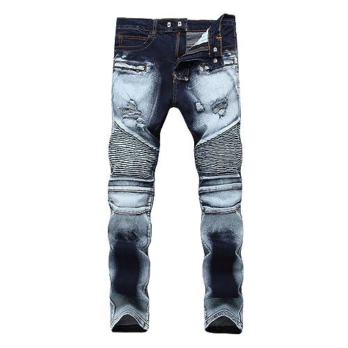 Biker Jeans Men S Amazon Com