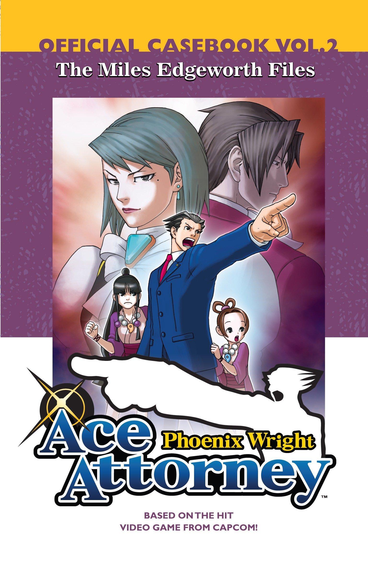 Amazon Com Phoenix Wright Ace Attorney Official Casebook Volume
