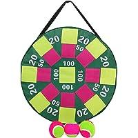 HEEMIKA Dart Juego de Pelota Inflable, Hinchable Target–Diana Juego, Inflable con Bolas de Velcro