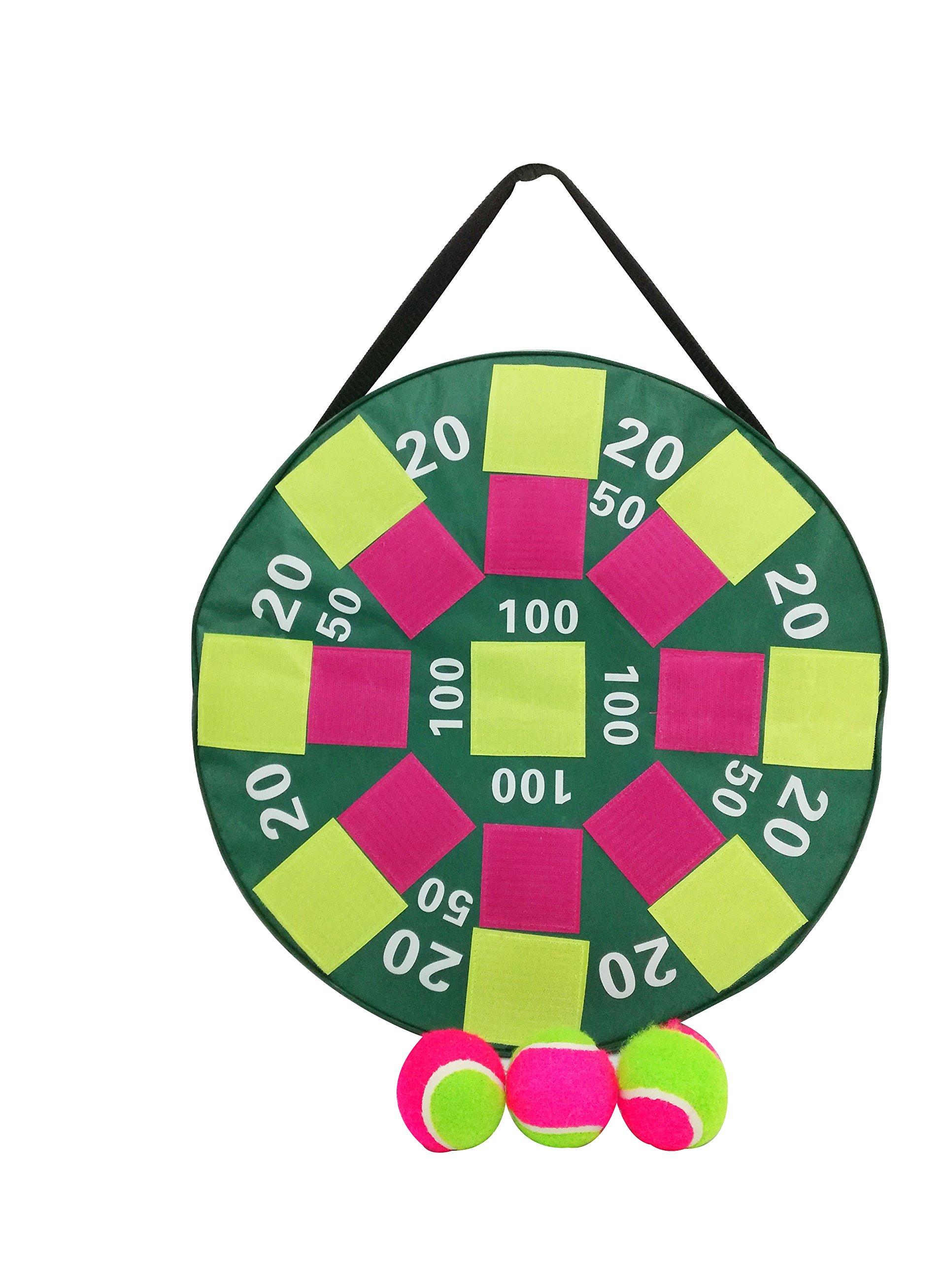Heemika Inflatable Dart Ball Game, Inflatable Target Game ,Inflatable DartBoard with Velcro Balls