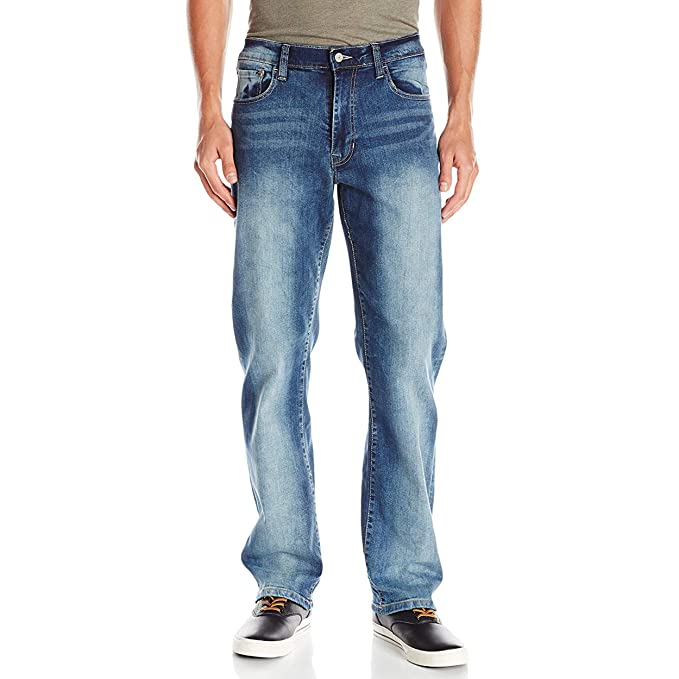 big discount latest design vast selection IZOD Men's Comfort Stretch Relaxed Fit Jean: Amazon.in ...