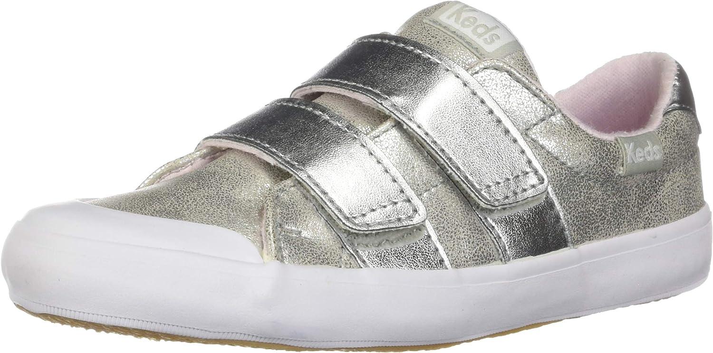 Keds Kids' Courtney Hook \u0026 Loop Sneaker