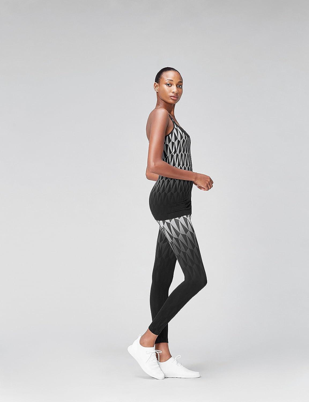Activewear Top de Deporte Estampado sin Costuras para Mujer