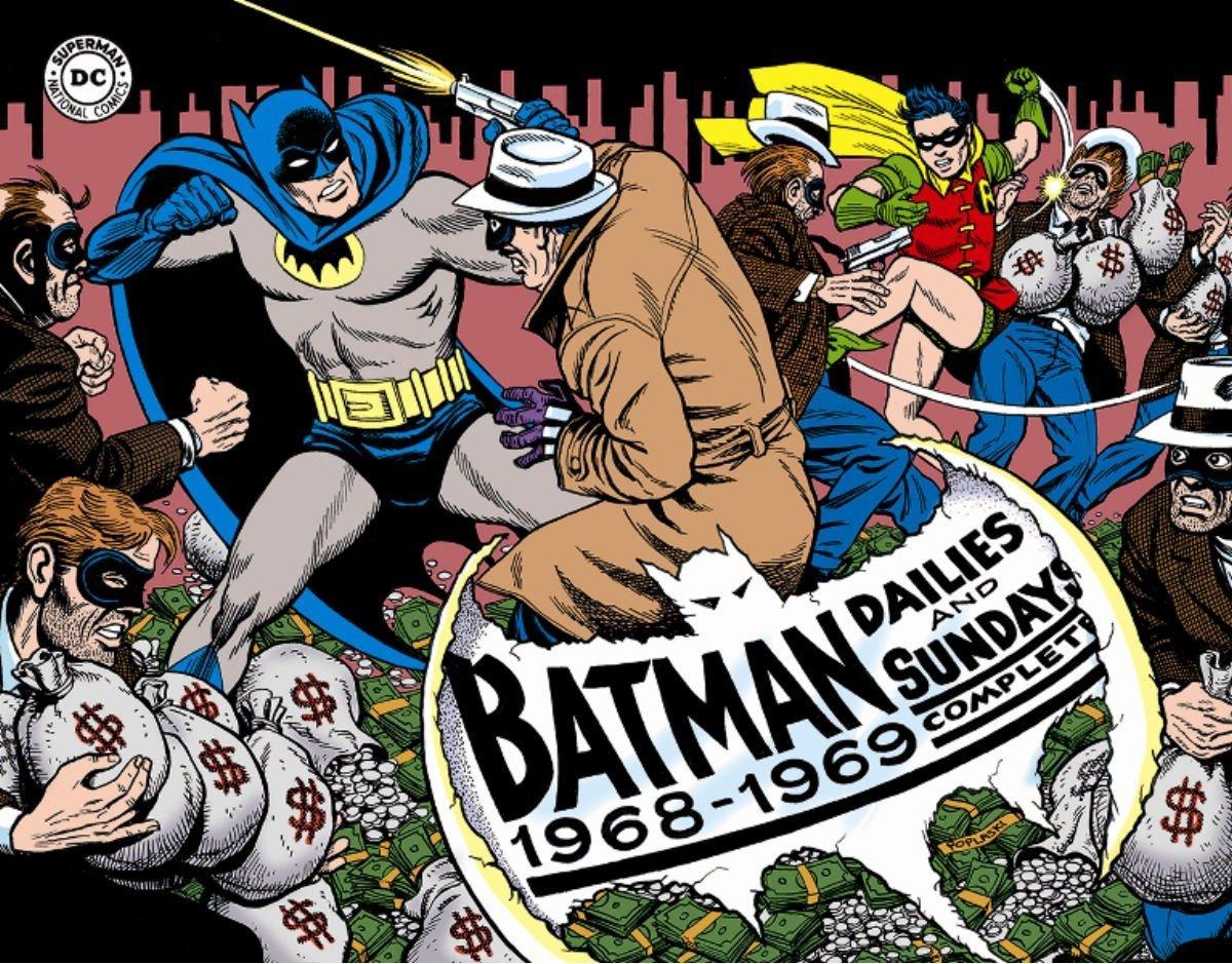 Batman: The Silver Age Newspaper Comics Volume 2 (1968-1969) (Batman  Newspaper Comics): Whitney Ellsworth, Joe Giella, Al Plastino:  9781631401213: ...