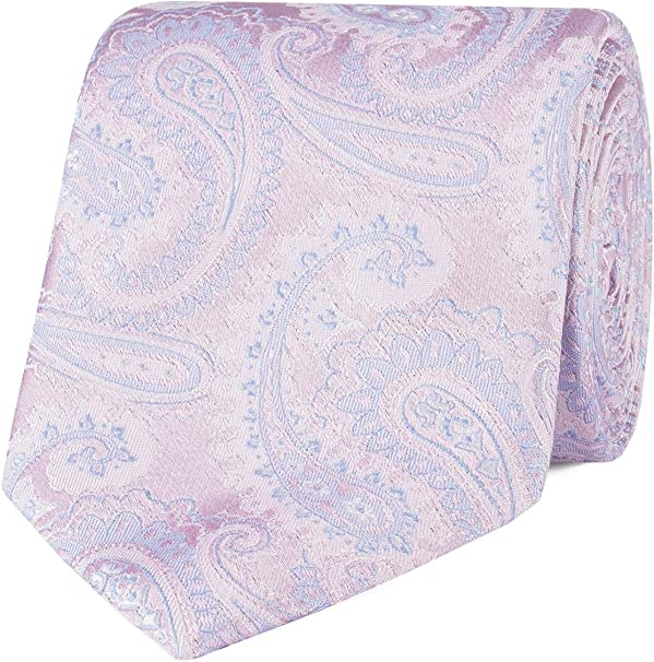 Jeff Banks London - Corbata de cachemira, color rosa: Amazon.es ...