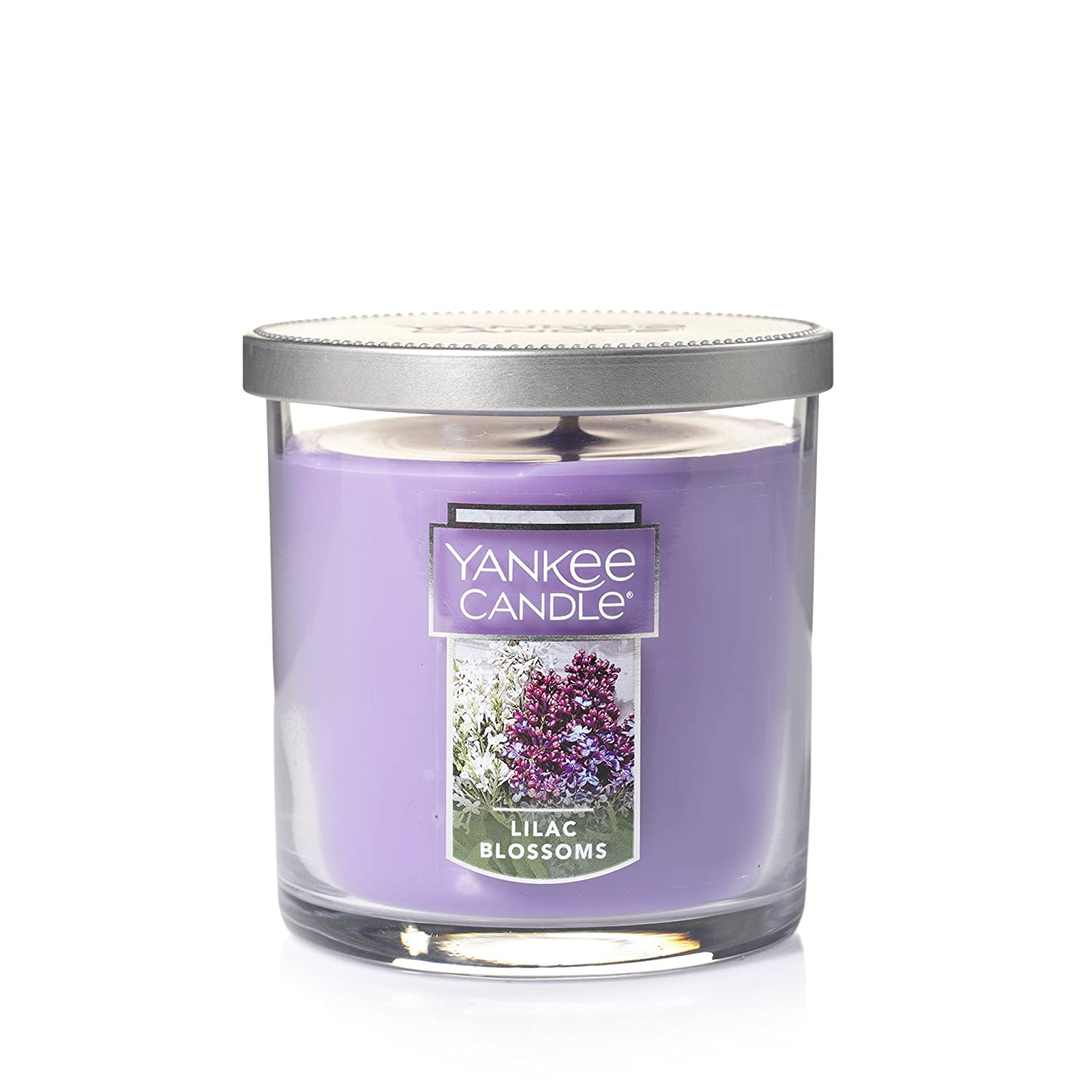 Yankee Candle Lilac Blossoms Small Single Wick Tumbler Candle, Floral Scent 1162787