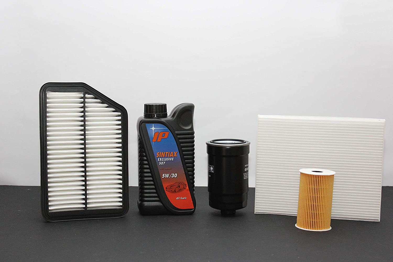 TAGLIANDO 4 FILTRI (aria-olio-abitacolo-carburante) + 6 LT OLIO 'Fuel Economy' ad elevatissime prestazioni 'longlife' (garantito per 30.000 KM) TECNECO FILTERS