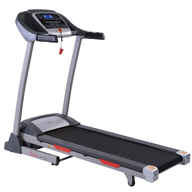 Amazon Com Sunny Health Fitness Treadmill Folding Motorized
