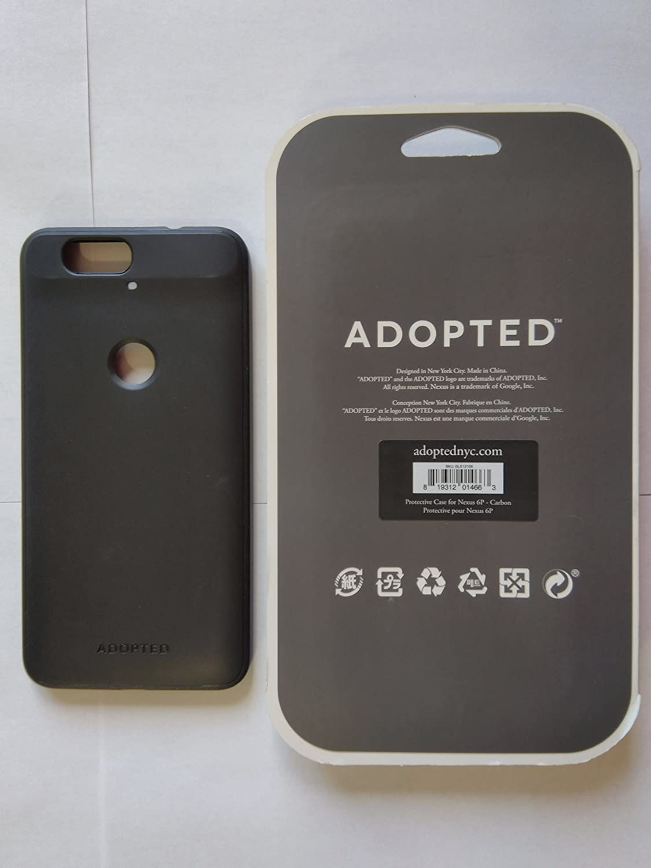 sale retailer fd44d 20cbf Adopted Folio case for Nexus 6P - Retail Packaging - Carbon