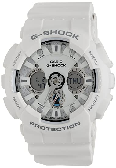 4607466dd698f Buy Casio G-Shock Analog-Digital White Dial Men s Watch-GA-120A-7ADR Online  at Low Prices in India - Amazon.in